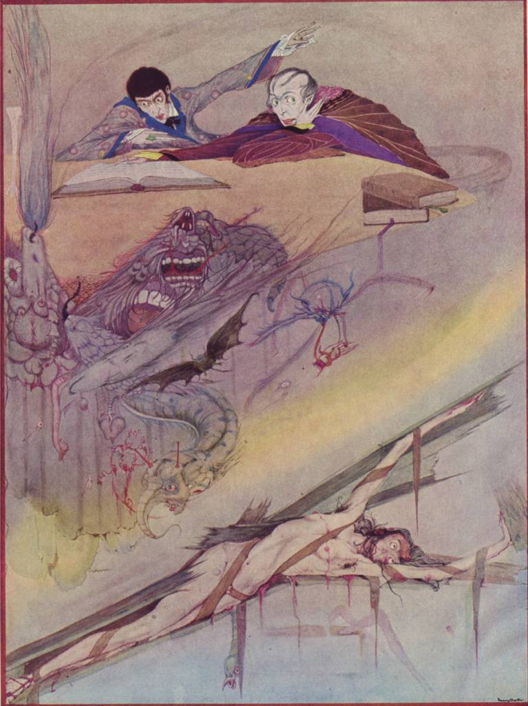 Harry Clarke Poe color 2