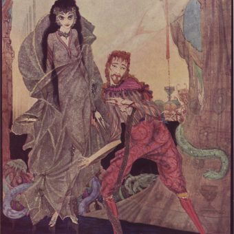 Harry Clarke's Spectacular Illustrations for Edgar Allan Poe