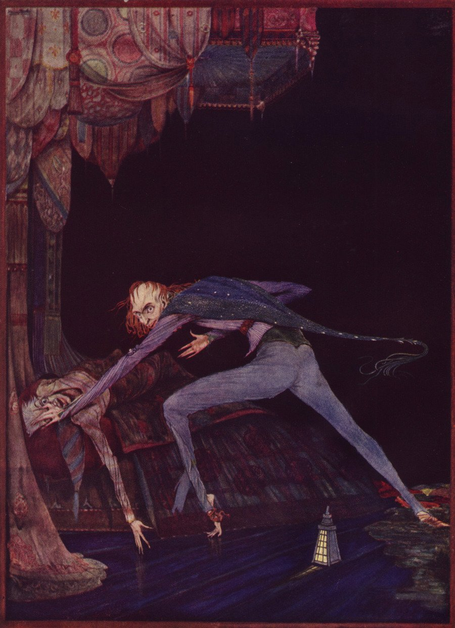 """the tell tale heart and human imagination Terror and horror in poe's """"the cask of  the reader's imagination becomes  rhetorical strategies in 'the tell-tale heart' and 'the cask of ."""
