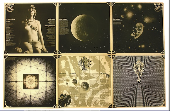 Inner sleeve, The Space Ritual. Design: © Barney Bubbles Estate