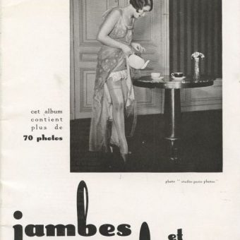 Jambes Et Attitudes: Photos From A 1930 French Sex Magazine