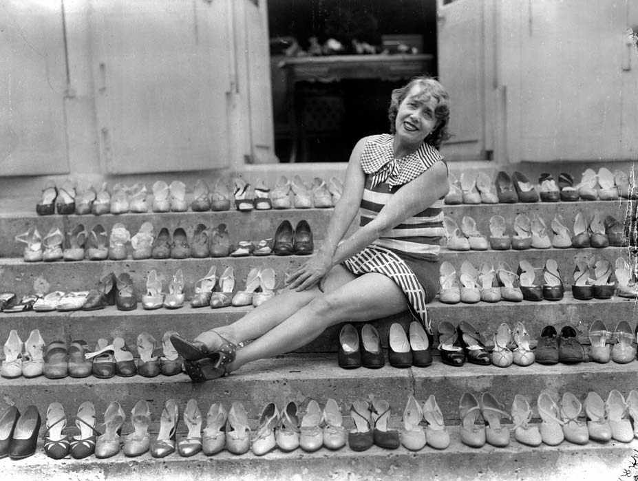 Mistinguett and shoes