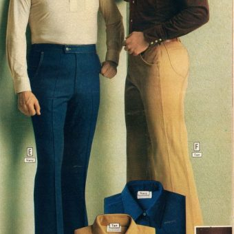 Montgomery Ward Fall-Winter Catalogue 1978: Men's Casual Fashion