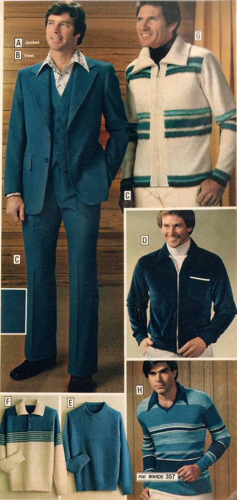 Montgomery Ward Fall Winter Catalogue 1978 Men S Casual