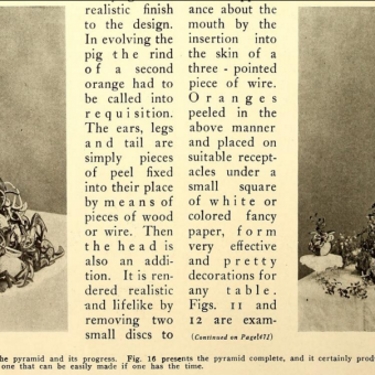 The Art of Ornamental Orange Peeling (1910)