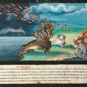 The Book of Miracles: Wondrous Medieval Illustrations of Divine Horror