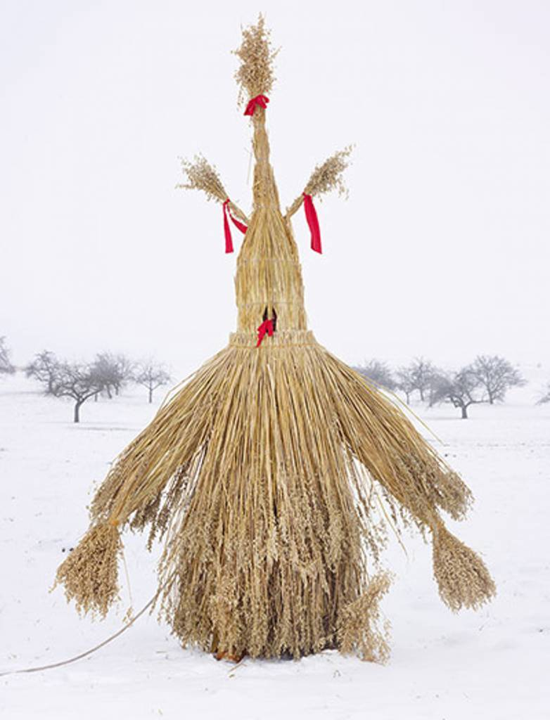 The Strohmann (Straw Man) of German rural mythology has been variously interpreted as a Wild Man, a personification of lust and a symbol of winter