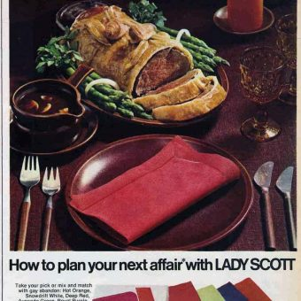 Hideous Food Adverts For Regrettable Meals (1968)