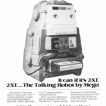 The Robot with a Personality: Remembering Mego's 2-XL