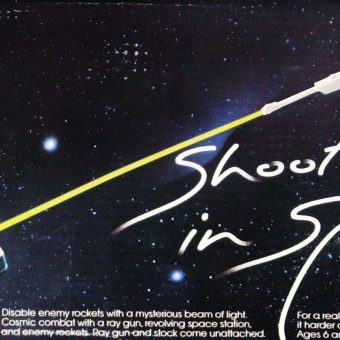 I'm Making the Galaxy Safe for Humanity: Tomy's Shoot Out in Space (1978)