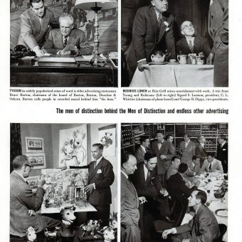 The Forefathers Of Mad Men Star In This Fantastic 1950 Article On Advertising In New York City