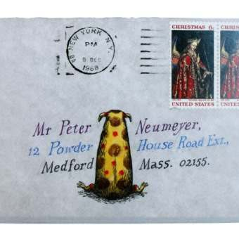 Edward Gorey's Wonderfully Illustrated Envelopes And Letters