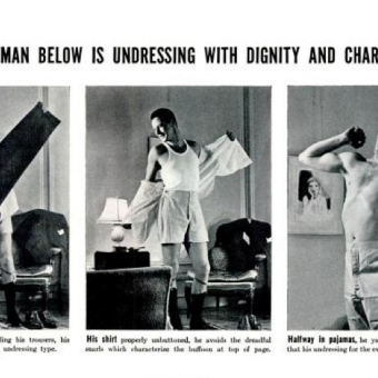 How A Man Should Undress In Front Of His Wife – And Vice-Versa (1937)