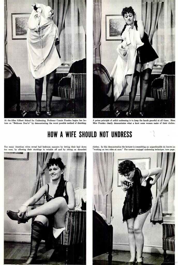 How to Undress: Domestic advice of the 1930s