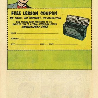 In Tune With Fun: A 1950s Accordion Comic Book