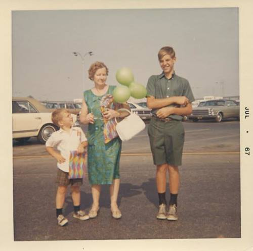 found photos  children hanging out with the family in the 1960s