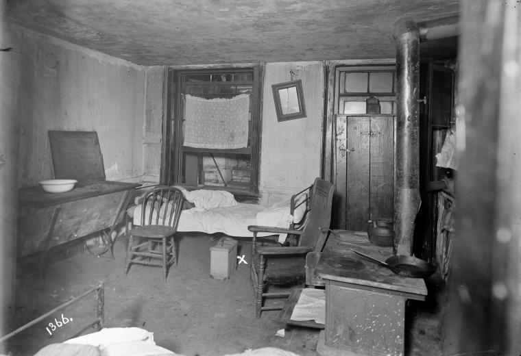 Photographs Of Tenement Houses On Orchard Street New York