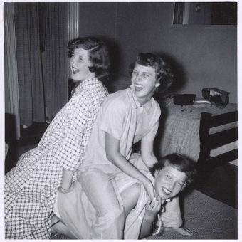 Found Photos: A Mid-Century Pyjama Party