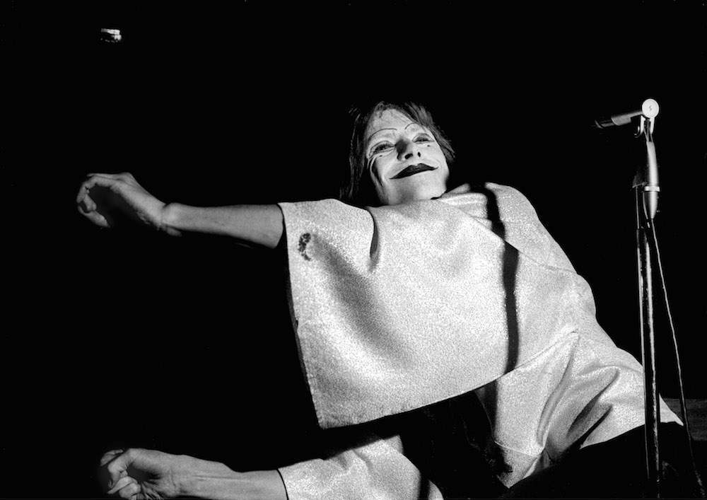 Mandatory Credit: Photo by Ray Stevenson/REX/Shutterstock (563051f) David Bowie DAVID BOWIE 'IN MIME' AT THE MIDDLE EARTH CLUD, LONDON, BRITAIN - 19 MAY 1968