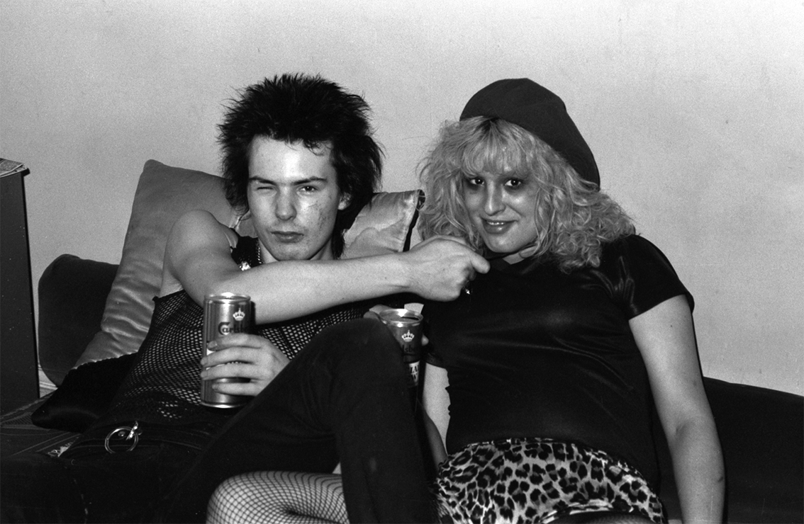 Rare Photos Of Nancy And Sid Vicious At Johnny Rotten S