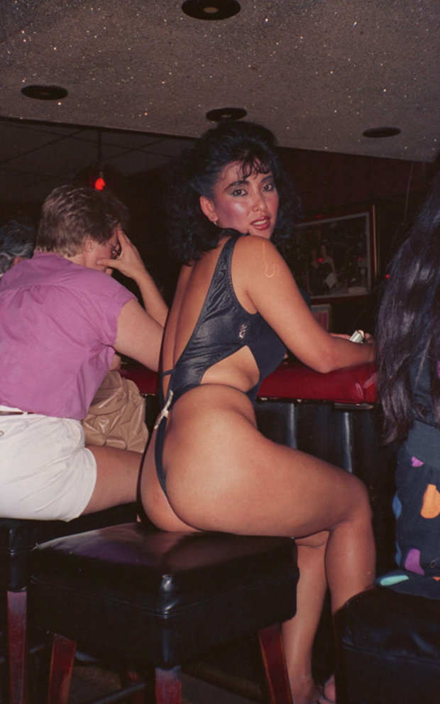 found photos strippers LA
