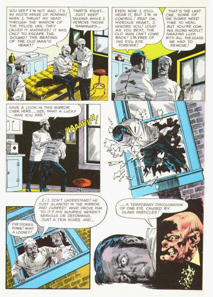 Here's a classic comicbook version by Archie Goodwin and Reed Crandall. These scans come from Comix International #4 (1976), but the story was first published in black and white in Creepy #3 in 1965.