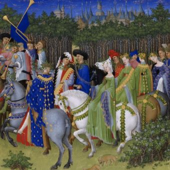 The Limbourg Brothers Beautiful Illustrations for 'Très Riches Heures du Berry' 1416