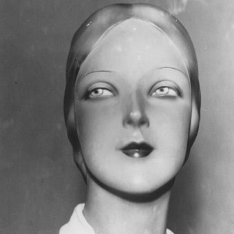 The Dummy's Art Deco Head: A 1920 Study In Four Photographs