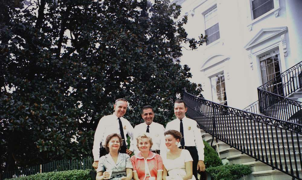 White House Staff and Police Officers at First Lady Jacqueline Kennedy's First Musical Program for Youth