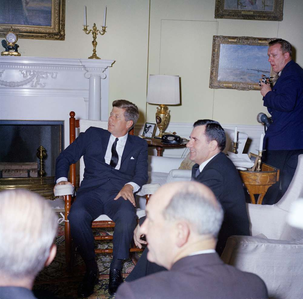 President John F. Kennedy Meets with Andrei Gromyko, Minister of Foreign Affairs of the Soviet Union (USSR)