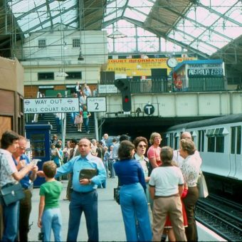 Photos of Earls Court and Kensington in the Summer of 1976