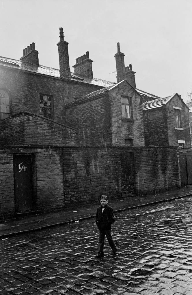Coming home from school, Bradford 1969