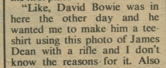 DAVID BOWIE sex 10