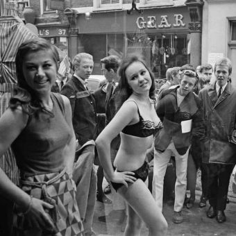 Living Mannequins in A Carnaby Street Shop Window (1966)