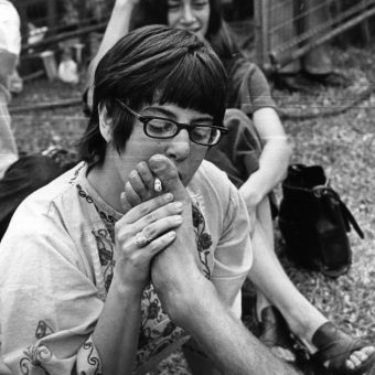 Toe-Toking with Pink Floyd At The Hyde Park Free Concert 18th July 1970 (Photos)