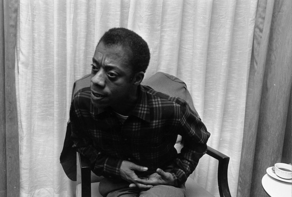 American writer and Civil Rights activist James Baldwin (1924 - 1987). (Photo by Townsend/Getty Images)