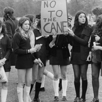Pictures of London's School Strike of 1972