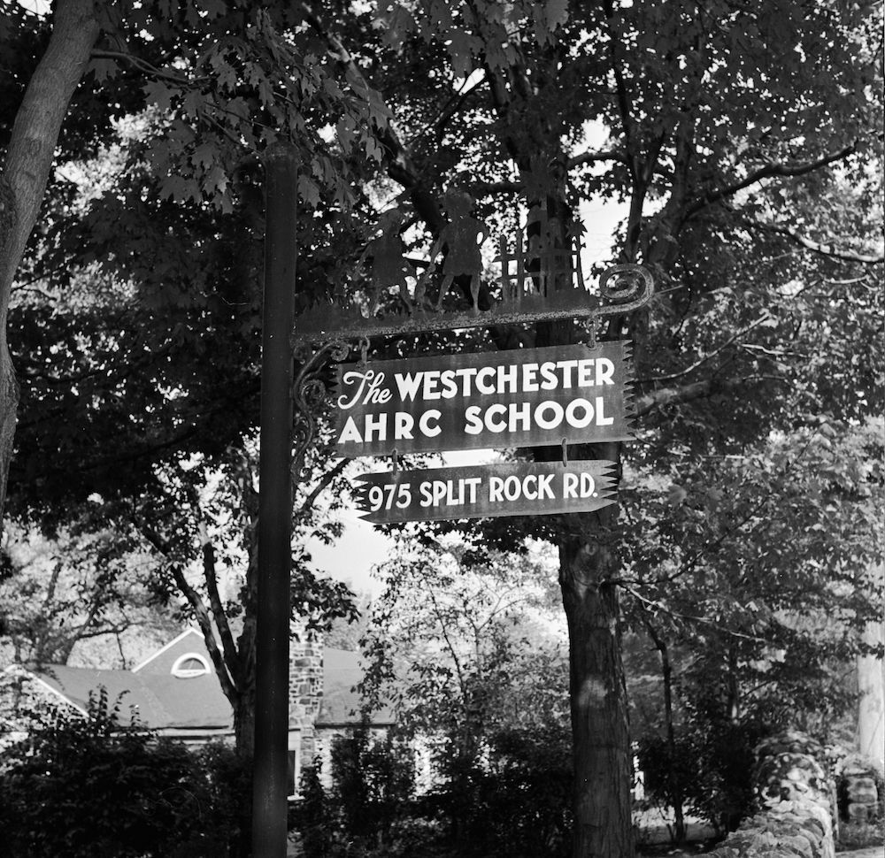 circa 1948: Westchester County School of the Association for the Help of Retarded Children, the first parent-sponsored non-profit school in New York State. (Photo by Orlando /Three Lions/Getty Images)