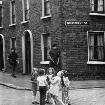 Photos Of Children In The Troubles: Northern Ireland 1969-1981