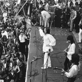 The Rolling Stones Play Hyde Park In Memory Of Brian Jones (Photos July 5 1969)
