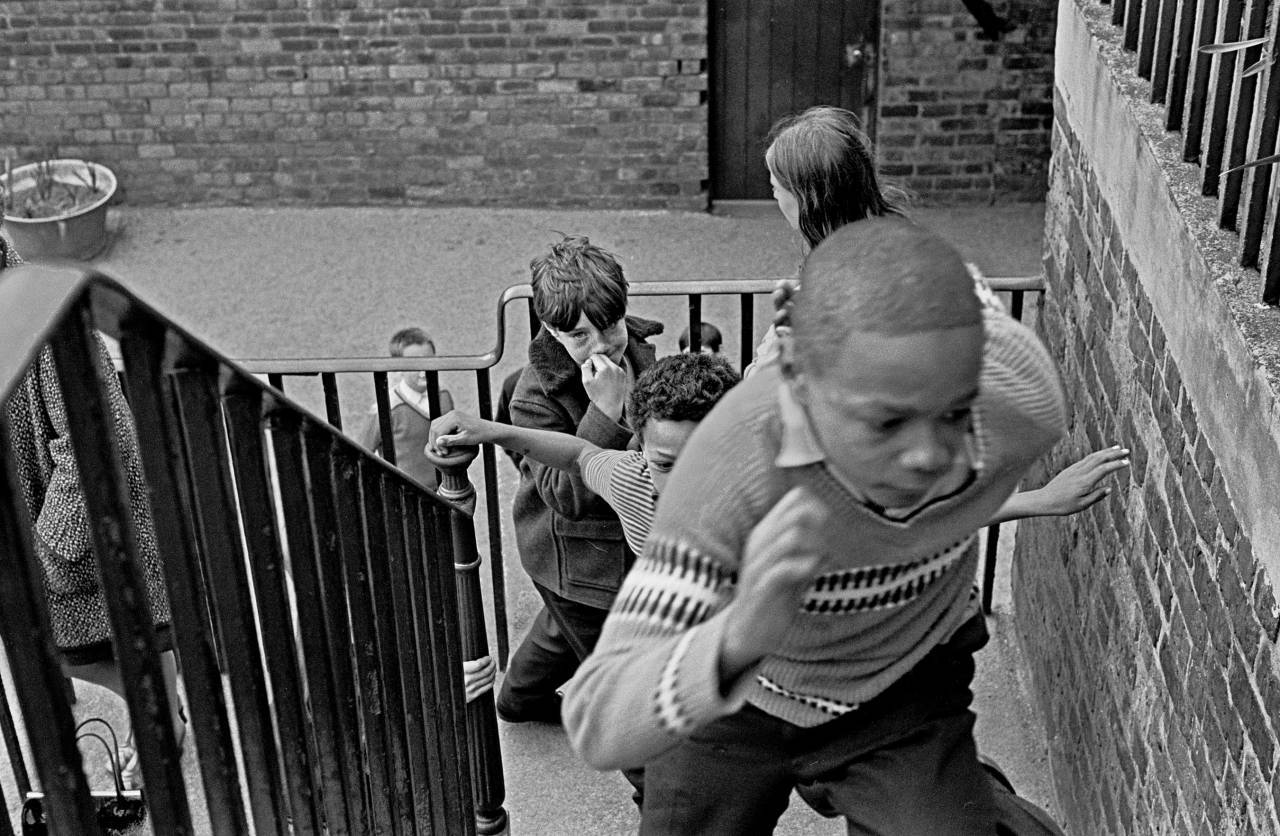 Going back into class Liverpool 8 EPA primary school 1969