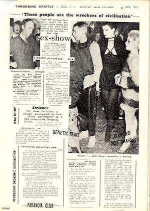 ICA flyer with quote from Daily Mail October 17 1976