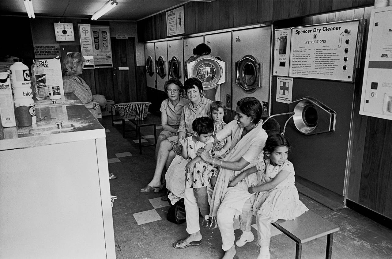 In a Bradford laundrette 1970