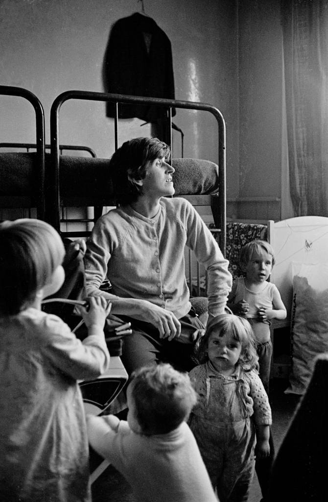 In a hostel for the homeless Dartmouth Park 1969