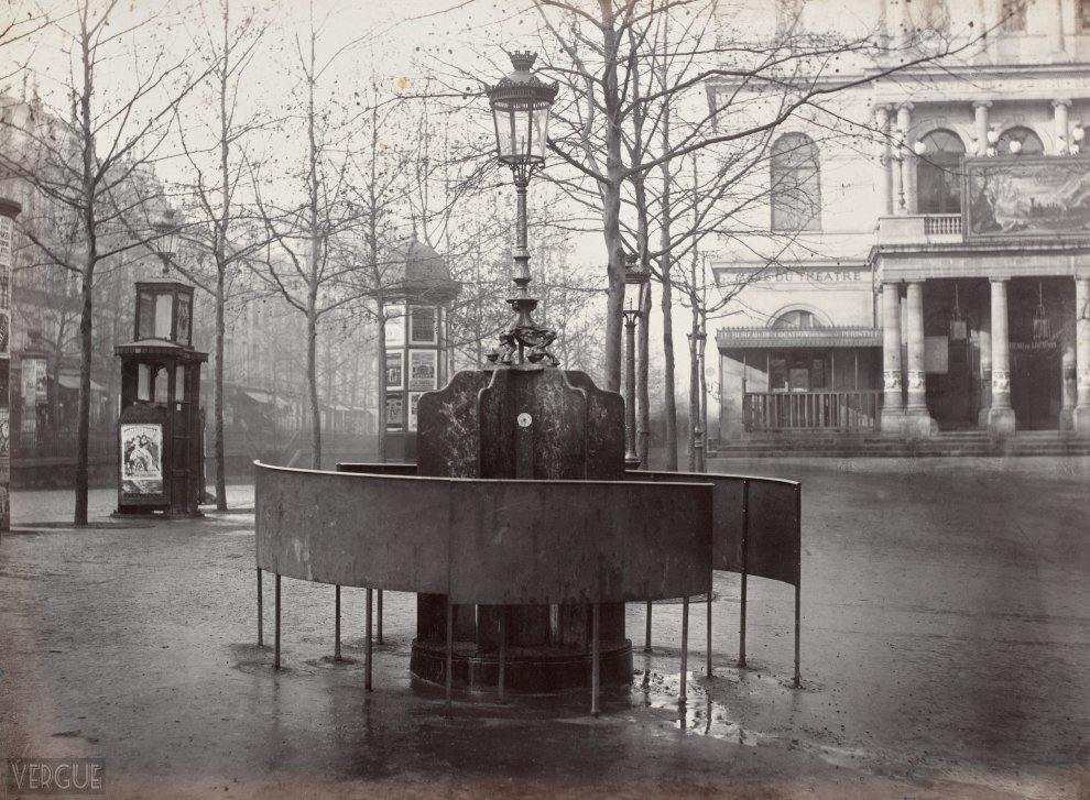 Jennings urinal system. Plateau of the Ambigu. Paris Xe. Circa 1875.
