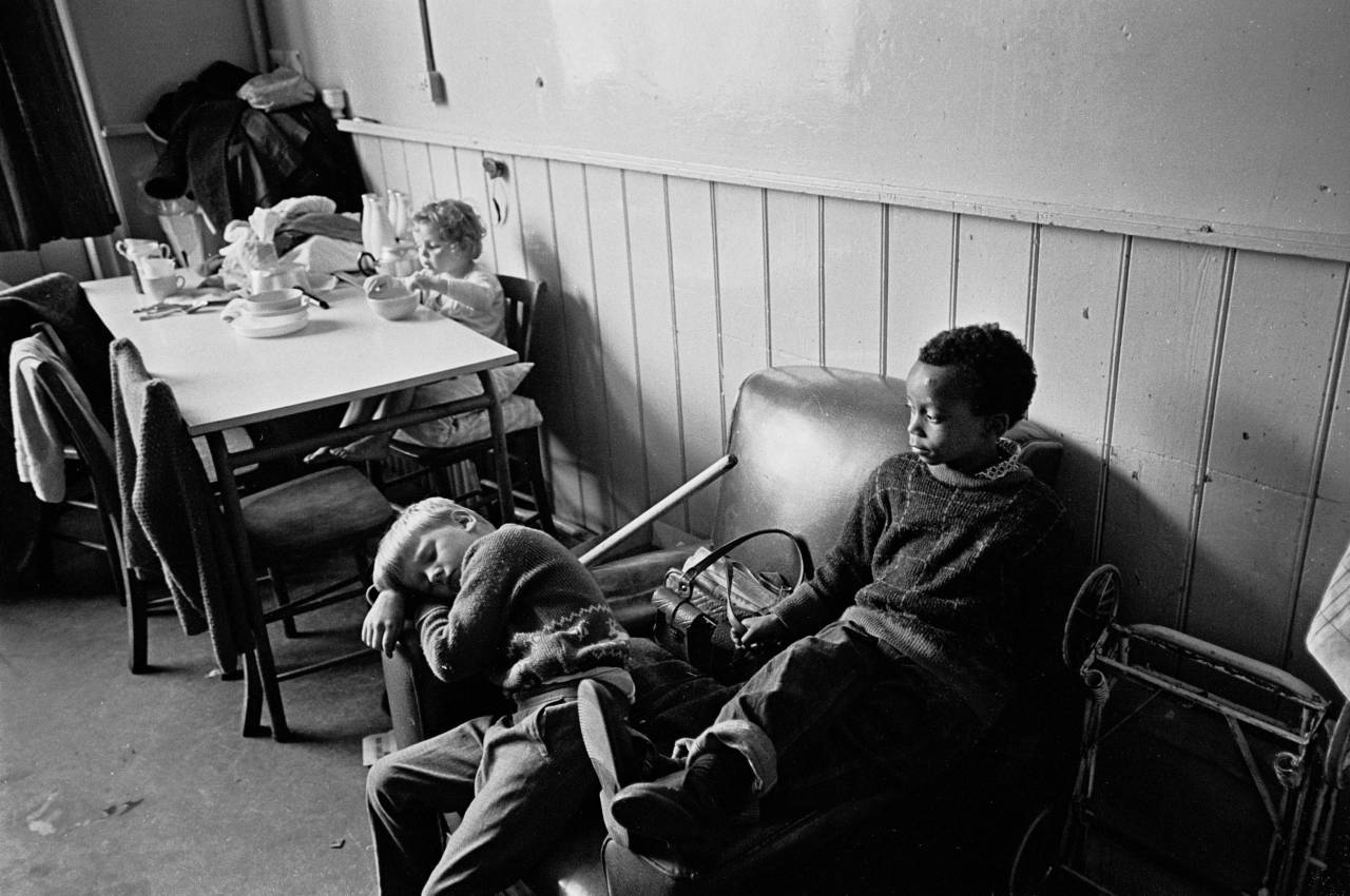 Living accommodation hostelfor the homeless Dartmouth Park 1969