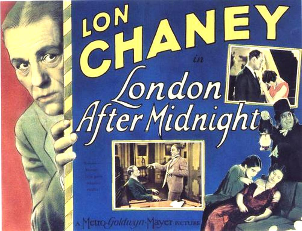 Lobby Card for London After Midnight 1927
