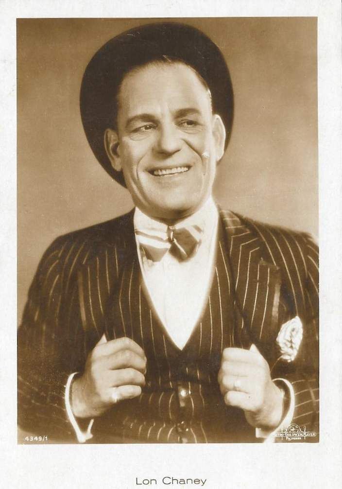 Lon Chaney postcard