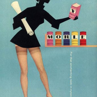 Beautiful 20th Century Morley Hosiery Adverts