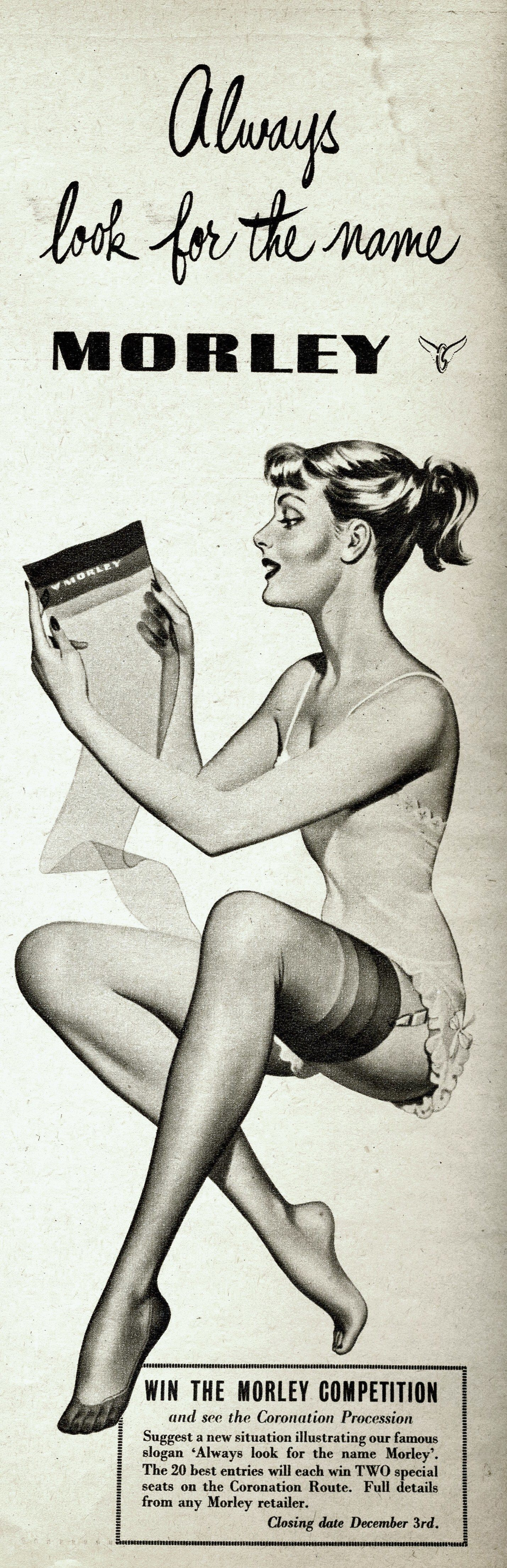 Morley Stockings Picturegoer 15-11-1952